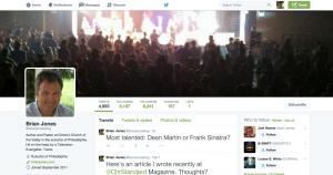 Brian Jones Twitter