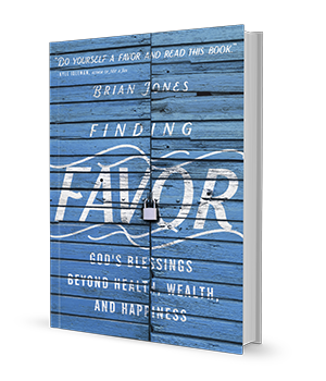 brian jones finding favor available on amazon